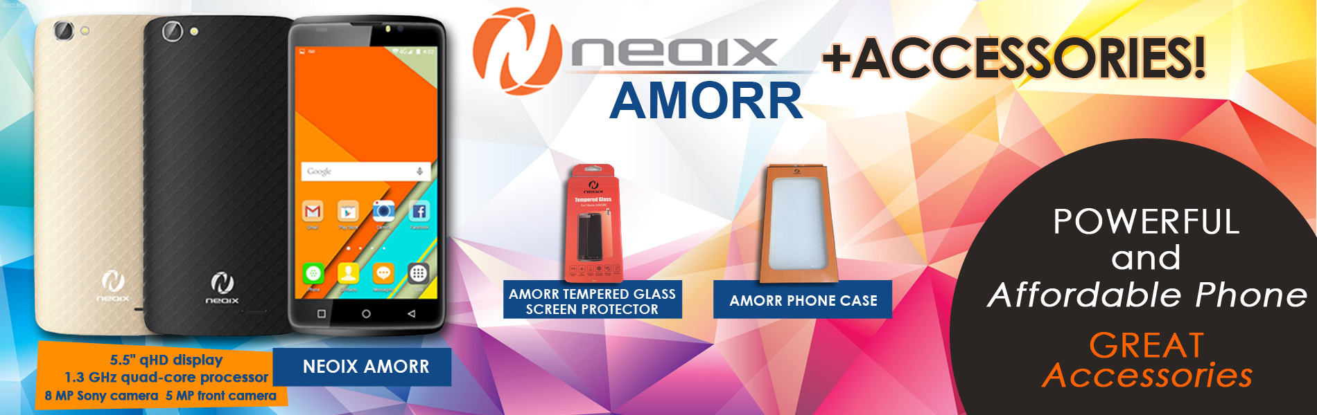 Neoix Amorr and Accessories