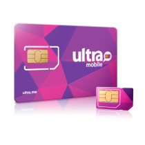 Ultra Mobile Triple Punch Sim Card